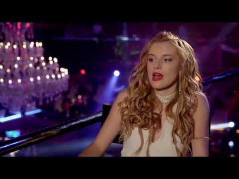 """Alvin And The Chipmunks The Road Chip """"Ashley Grey"""" Behind The Scenes Interview - Bella Thorne"""