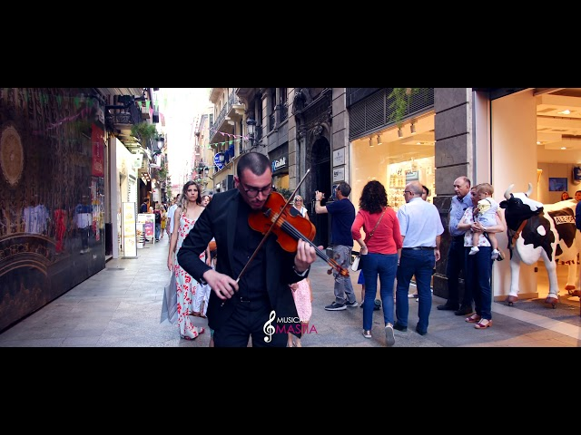 La Gran Shopping del Verano | Violinista para Bodas | Violinista para Eventos