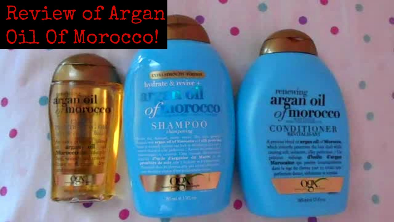 ogx argan oil of morocco shampoo review youtube. Black Bedroom Furniture Sets. Home Design Ideas