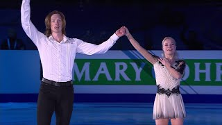 Е.Тарасова - В. Морозов. Показательные выступления. Чемпионат Европы по фигурному катанию