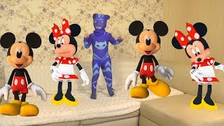 Five Little Mickey and Minnie Mouse Jumping On The Bed | Children Nursery Rhyme and Songs by Timur