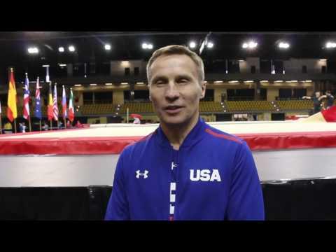 INTERVIEW: U.S. National Team Coordinator Valeri Liukin After 2017 International Gymnix