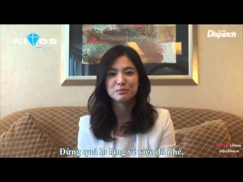 [Song Hye Kyo] Vietsub Dispatch's Interview