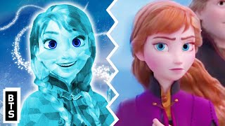 Disney's Frozen 2 Theory: Anna Is A Living Ice Sculpture