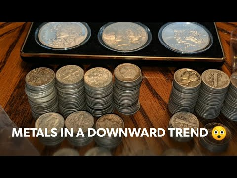 Coin Show Dealer Sentiment, Gold & Silver market trending down!  What is your stacking strategy?