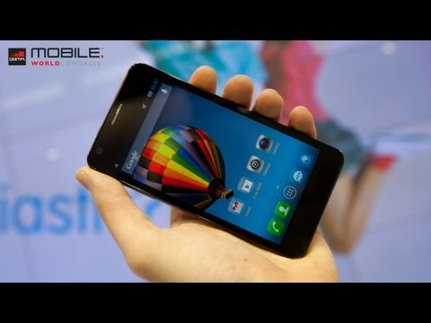Alcatel One Touch Idol a Idol Ultra (MWC 2013)