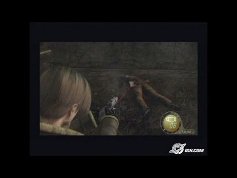 Resident Evil 4 GameCube Gameplay - Shinji Mikami plays