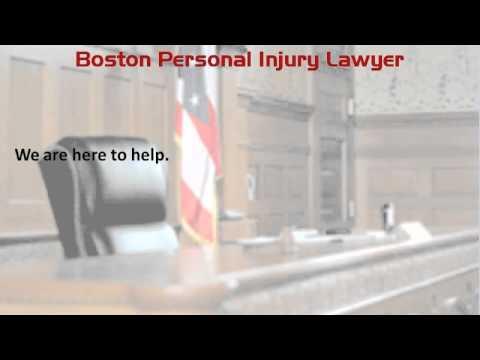Boston Personal Injury Lawyer