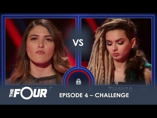 Kendyle vs Zhavia: The BOMBSHELL Result That Has Meghan Trainor Sobbing on LIVE TV | S1E4 | The Four