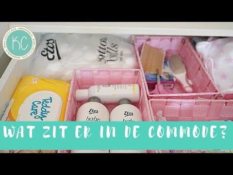 Wat zit er in de commode op de babykamer 💖? | Kelly caresse