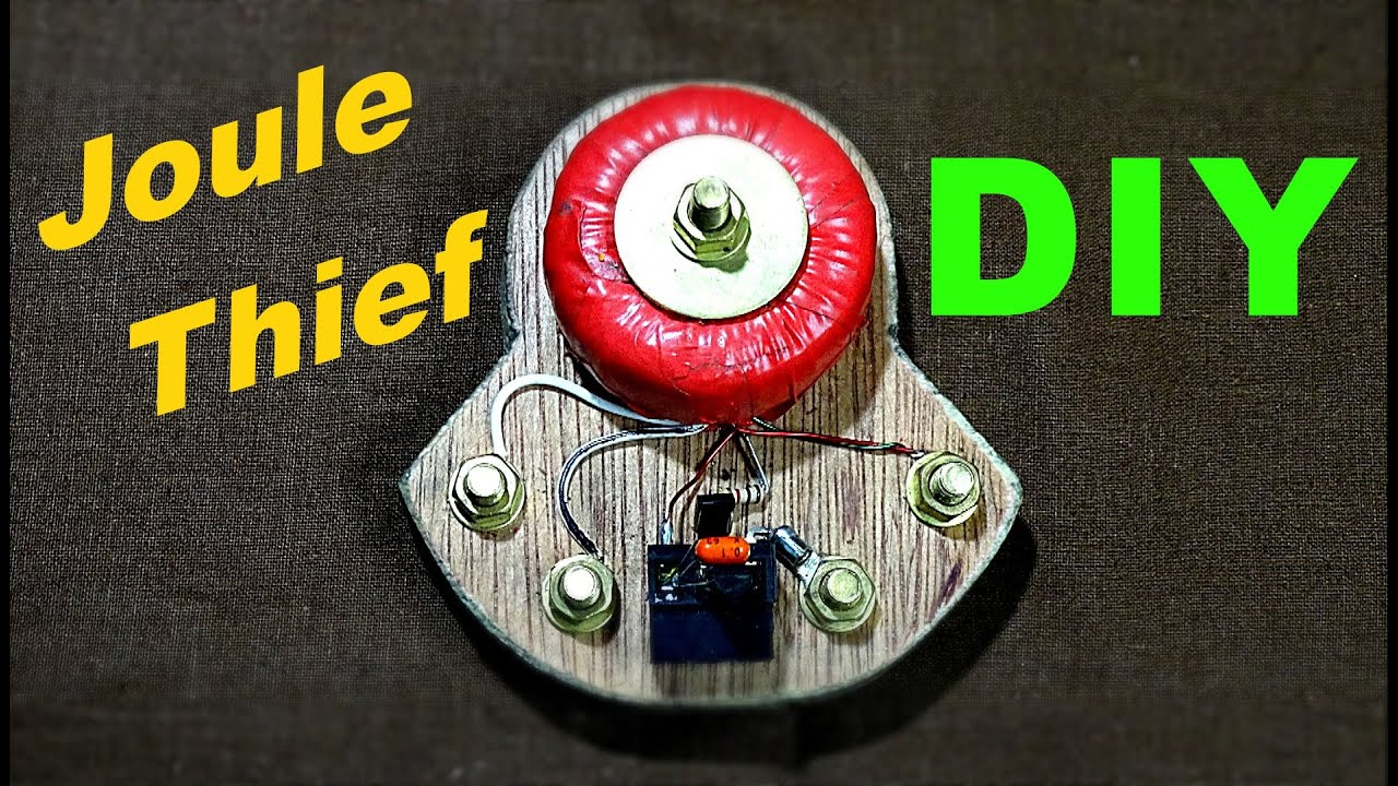 Joule Thief Circuits