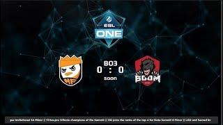 Happyfeet vs Boom ID Game 3 (BO3) | ESL Genting SEA Qualifiers
