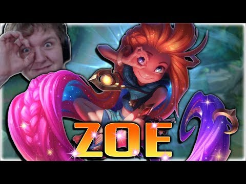 THE NEW CUTEST ONE SHOT MASTER!! New Champion Zoe Mid Full Gameplay - League of Legends PBE