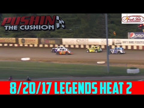 Angell Park Speedway - 8/20/17 - Legends - Heat 2