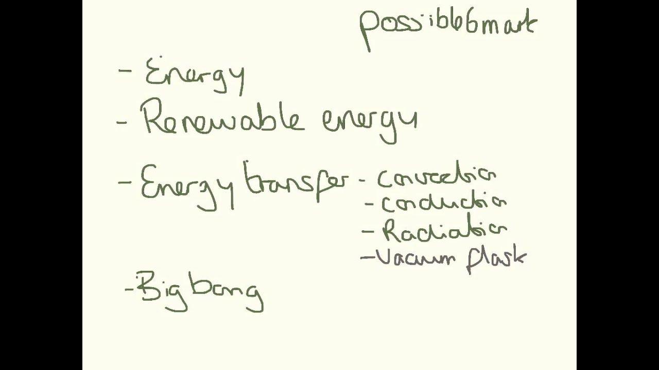 AQA P1 2015 predictions- GCSE Physics or Core Science - YouTube
