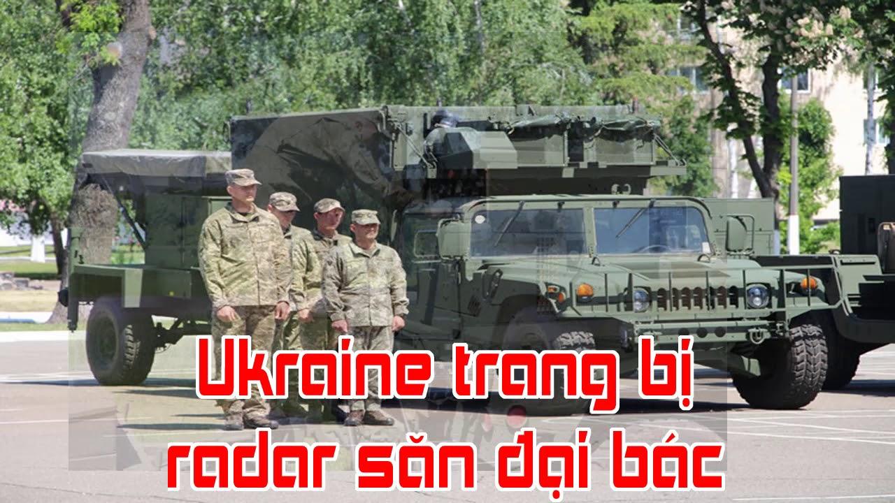 Ukraine trang bị radar săn đại bác