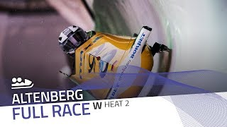 Altenberg | BMW IBSF World Cup 2018/2019 - Women's Bobsleigh Heat 2 | IBSF Official