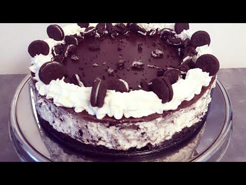 #cheesecake_oreo-فيديو-جديد-لعشاق-اوريو-تشيز-كيك-اوريو-بدون-جيلاتين-سهل-التحضير-cheesecake-oreo