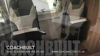 Pre-Owned Wheelchair Accessible Motorhome I 2016 LIV Bessacarr 496 I Coachbuilt