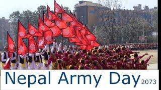 Nepal Army Day 2073 || यसरी मनाइयो सेना दिवस ||