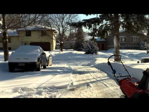 A typical winter day in Brooklyn Park, Minnesota-3