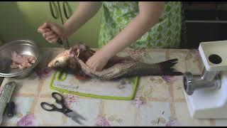 Фаршированная рыба. Подробный рецепт. Фаршируем толстолоба, карпа или щуку