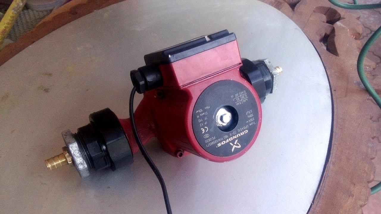 Ремонт электрики циркуляционного насоса wilo своими руками
