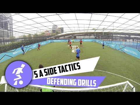 Five-a-Side Defending Tactics
