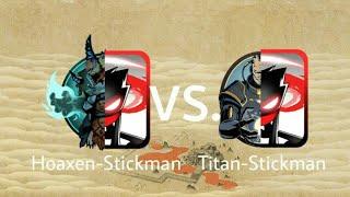 Shadow Fight 2 Hoaxen-Stickman vs Titan-Stickman
