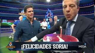 ¡Tartazo fallido de Edu Aguirre a Cristóbal Soria!