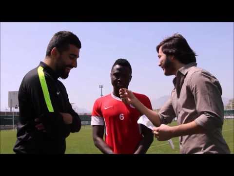 Samuel Eto'o Eğlenceli Anlar /Samuel Eto'o Funny Moments in interview