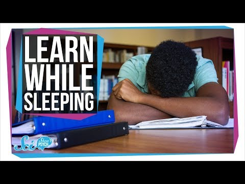 How to Learn While You Sleep