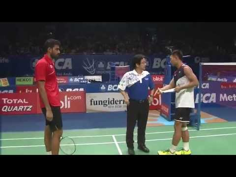 BCA Indonesia Open 2016 | Badminton QF M3-MS | Rajiv Ouseph vs Ihsan Maulana Mustofa