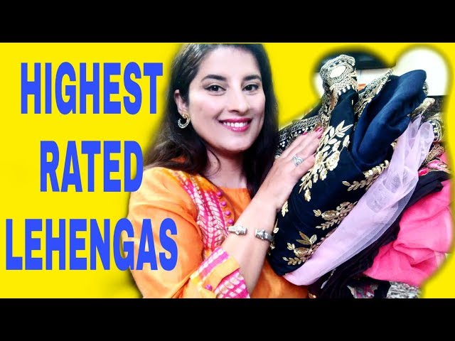I Bought Highest Rated Partywear Bridal Lehengas Online| Flipkart Lehenga Review| Rachna Reviews