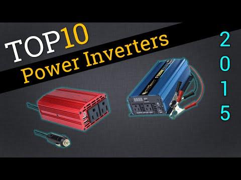 Top 10 Power Inverters 2015 | Best 12V Inverter Review