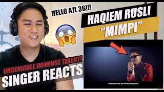 Haqiem Rusli - Mimpi (OST Drama Bidadari Salju - Official Music Video)   SINGER REACTION