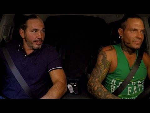 """Hardy Boyz 2 Men"" sing ""If I Ever Fall In Love Again"" on WWE Ride Along (WWE Network Exclusive)"