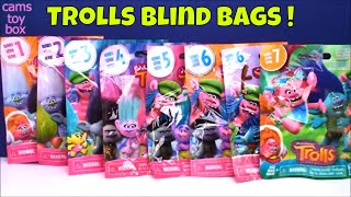 Trolls Blind Bags Opening Series 7 6 5 4 3 2 1 Holiday Surprise Toys Dreamworks