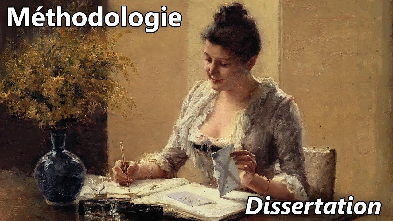 Dissertation ecriture litteraire