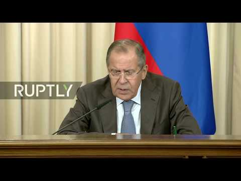 LIVE: Lavrov and Le Drian hold joint press conference in Moscow