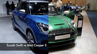 Suzuki Swift 2021 vs Mini Cooper S 2021