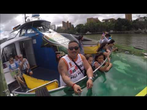 Brisbane CityCat Ferry 2017