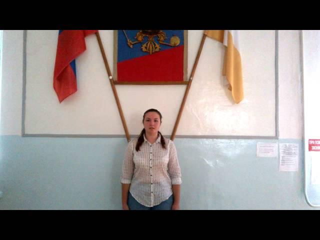 Изображение предпросмотра прочтения – ВикторияПоловинко читает произведение «Слово» И.А.Бунина