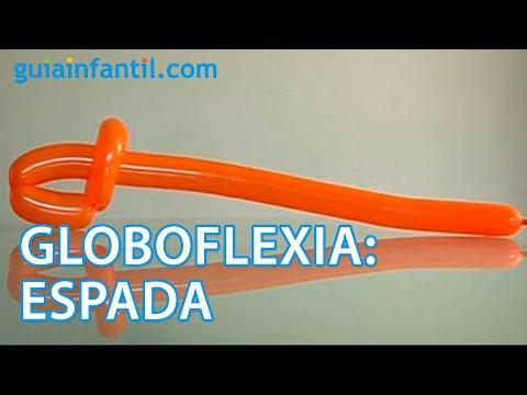 Globoflexia c mo hacer una espada con globos youtube - Como hacer figuras con globos ...