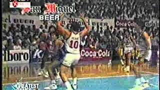 1989 PBA All-Filipino Finals Game 3 San Miguel-Purefoods 122-109