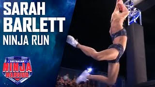 Sarah Barlett Full Run | Australian Ninja Warrior 2017