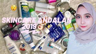 SKINCARE AMPUH & WORTH IT VERSI AKU! (Skincare Routine 2019)