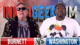 Robert Meyer Burnett VS Jay Washington - Movie Trivia Schmoedown Innergeekdom