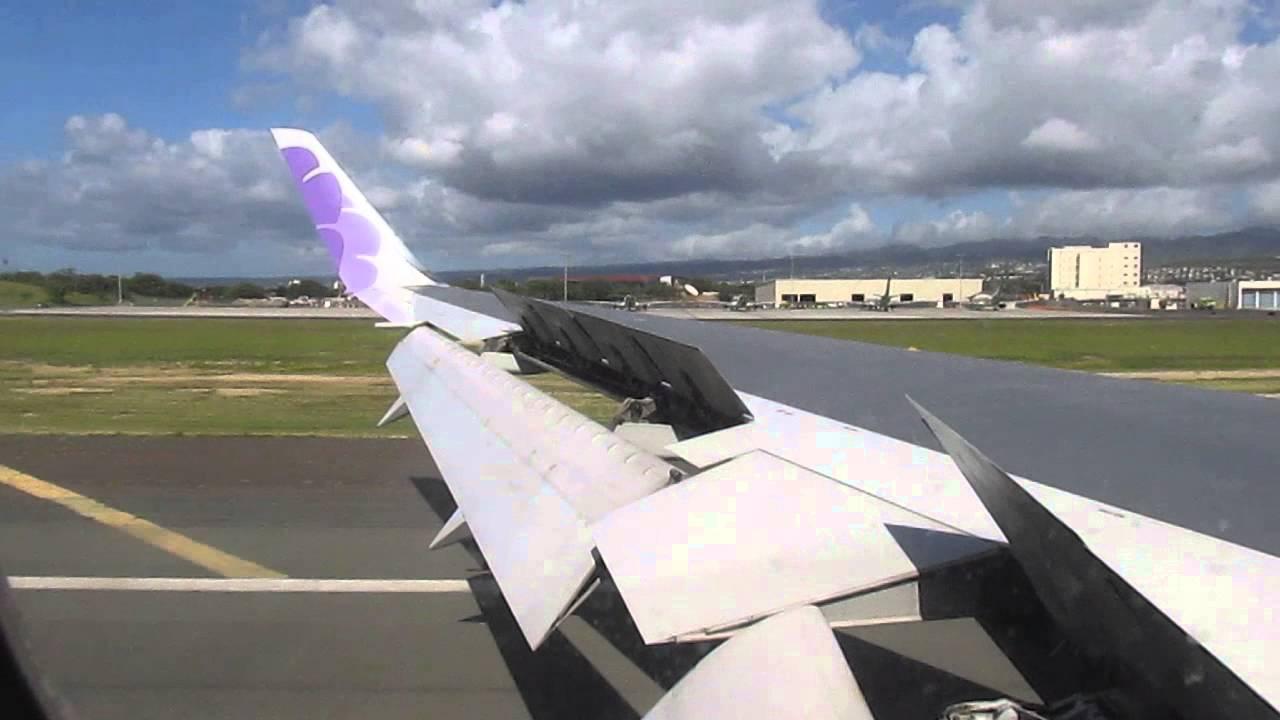 Hawaiian airlines 767 landing at honolulu international airport hawaiian airlines 767 landing at honolulu international airport smf hnl youtube sciox Gallery