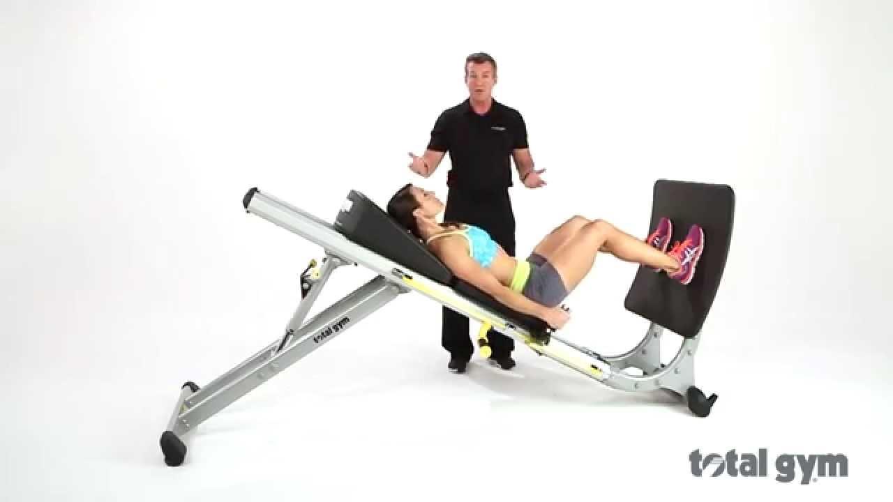 Total gym jump trainer demo youtube for Gimnasio jump lugo